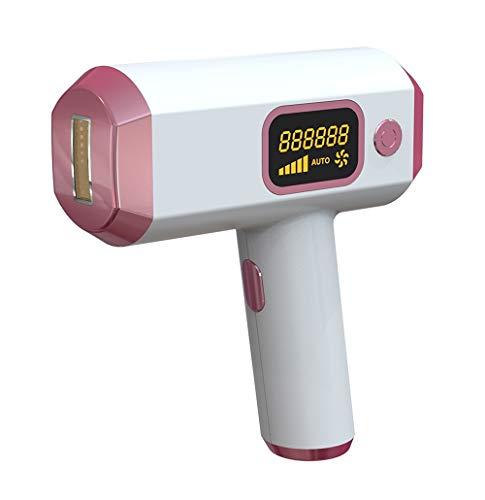 Shinelyf Depiladora de luz pulsada, IPL Depiladora Profesional en 2 Modos con LCD - 888788 Pulsaciones permanentes Profesionales para el Cuerpo, la Cara, Las Axilas en el hogar o en el Viaje