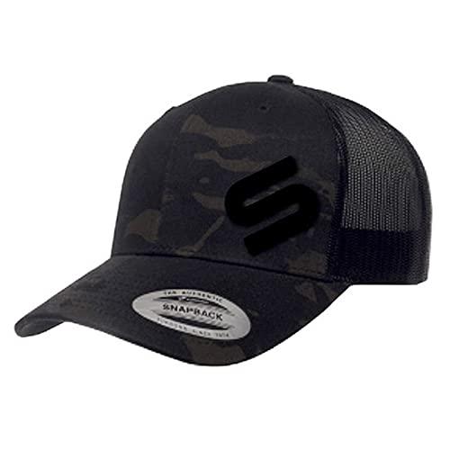 Sonik Multicam Mesh Cap One Size - Angelcap für Männer - Angelkappe für Herren - Basecap Fishing - Kappe für Karpfenangler