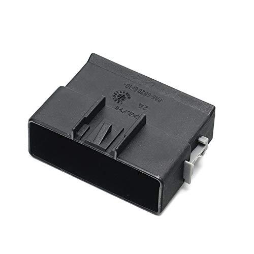 MOUNTAIN MEN Accesorios de sensores 1pcs 16 Camino Negro sin sellar Enchufe Macho Conector for Delphi 13513961/15326956 by
