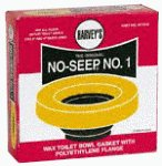 William H.Harvey Co. 001005-24 Toilet Bowl Wax Ring with Flange