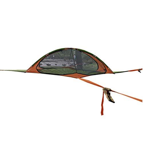 73HA73 Tienda Flotante Cielo Árbol Hamaca Colgante Camping Mosquitera Toldo Tienda al Aire Libre Pérgola Columpio de Suspensión para la Familia