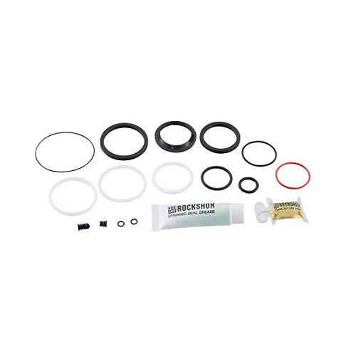 RockShox Unisexs 200 Hour1 Year Service Kit Includes Sealhead Piston Glide Rings Ifp Seals Spares Grease Super Deluxe Coil Remote 2018 Black One Size