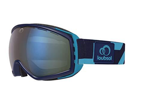 Loubsol Chrono Marine Turquoise NXT Gold 13 Skibril voor volwassenen, unisex