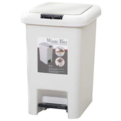 Cubo de Basura Botes de Basura operados-Pie hogar Son convenientes for el saneamiento y Limpieza.Clasificación de Basura 8L / 2 galones Botes de Basura (Tipo de inserción de Soporte) Papelera