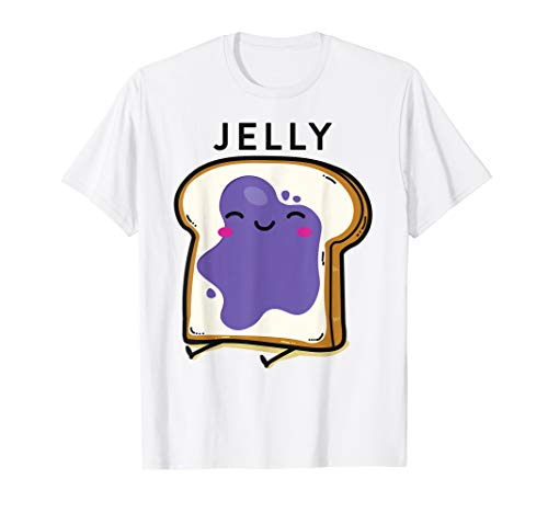 Peanut Butter& Jelly Matching Couple Shirts His Hers Outfits