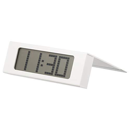 IKEA VIKIS wekker 15x5 cm, Wit