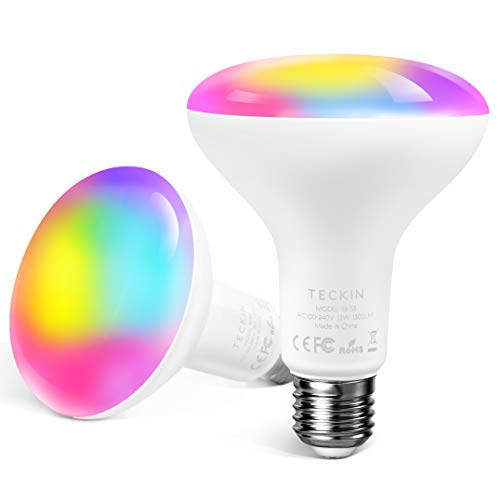 Lampadine Alexa Lampadina Smart Led E27,Dimmerabile Multicolor RGBCW...