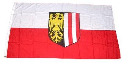 Fahne / Flagge Österreich - Oberösterreich 90 x 150 cm
