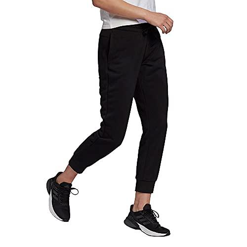 adidas W SL FT C 78PT Pantalones, Mujer, Black White, XS