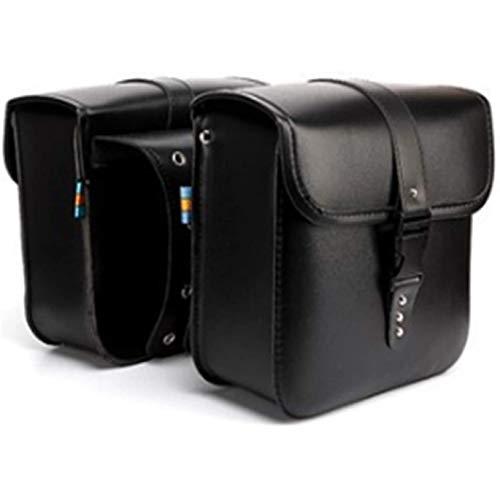 Heritan 1 par universal motocicleta Saddle Bolsas de almacenamiento lateral equipaje bolsa tenedor herramienta bolsa para //