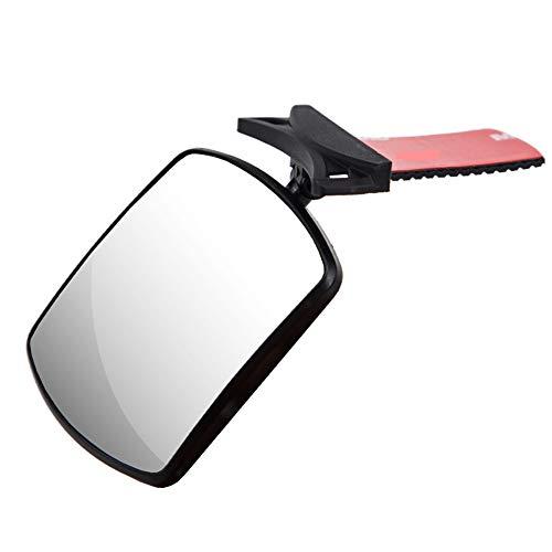 Specchietto Retrovisore Bambini,MoreChioce Regolabile Specchio Retrovisore per Auto Sedile Posteriore Autoadesiva Specchietto Retrovisore Accessori Specchio Auto Bambino
