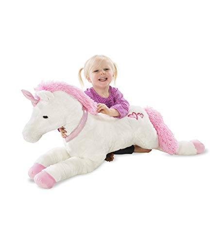 Large Super Soft Plush Dazzle the Unicorn Stuffed Animal