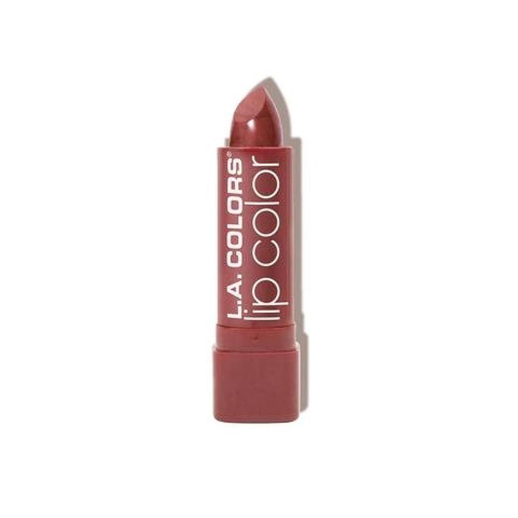 妥協流超えて(3 Pack) L.A. COLORS Moisture Rich Lip Color - Petal (並行輸入品)