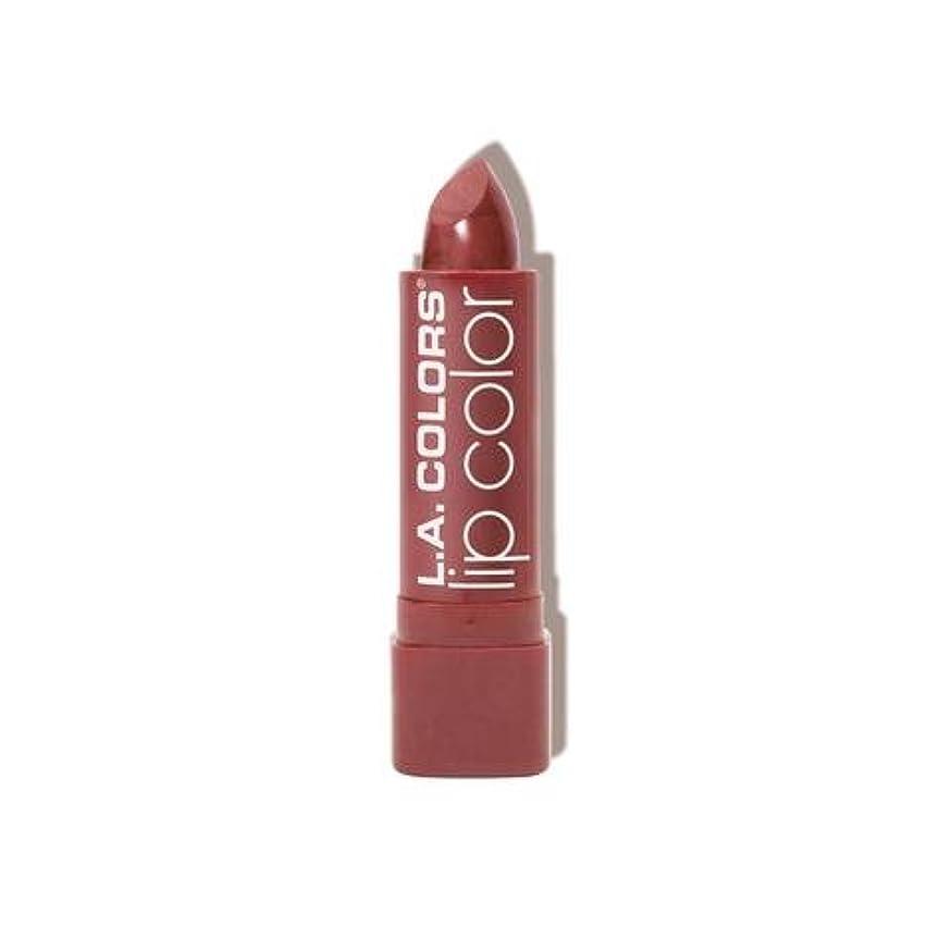 習慣ベルエンゲージメント(3 Pack) L.A. COLORS Moisture Rich Lip Color - Petal (並行輸入品)