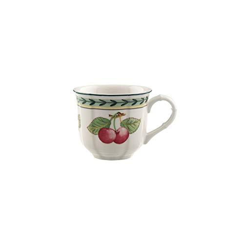 Villeroy & Boch French Garden Fleurence Taza de expreso, 100 ml, Altura 6 cm, Porcelana Premium, Blanco/Colorido
