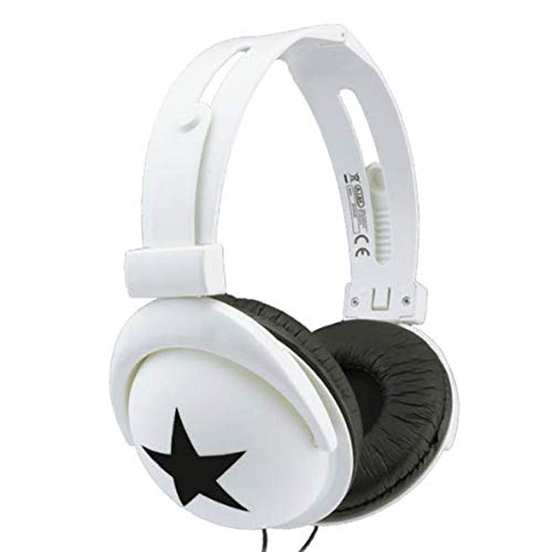 Loopan Star Headphones Over The Head Supra-aural Portable Design Stereo Earphone for Kids Boys Girls Adults Multicolor