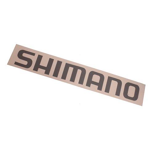 Shimano DECALMGY - Adhesivo decorativo (tamaño mediano), color gris