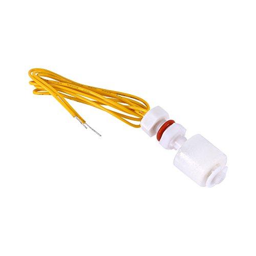 Interruptor de flotador de nivel de líquido - 1x110V Sensor de nivel de agua líquida Interruptor de flotador horizontal fr Alarma de bomba de pecera