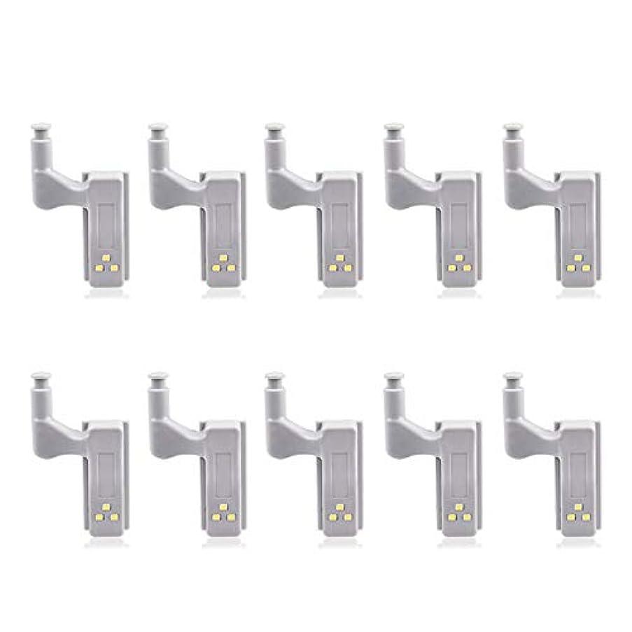 10pcs LED Cabinet Light Motion Sensor Under Cabinet Lights for Kitchen Bedroom Wireless Wardrobe Closet Light Night Lamp