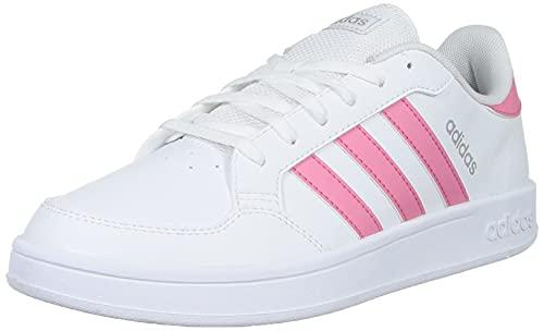 adidas BREAKNET, Zapatillas Deportivas Mujer, FTWBLA/TONROS/Plamet, 38 EU