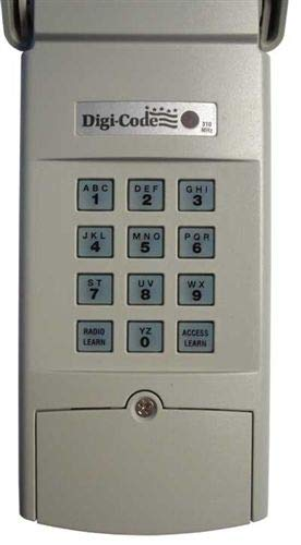 Best Buy! Digi-Code DC5202 Wireless Keypad Stanley Compatible