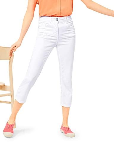 Cecil Damen Toronto Jeans, White, W32/L24