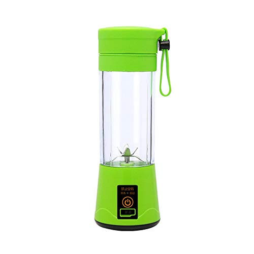 SXXYTCWL Portable Juicer USB Charging Mini Accompanying Juicer Cup Wireless Single Small Electric Juicer Fruit and Vegetable Food Mixer Suitable for Home Office Travel Outdoor Sports