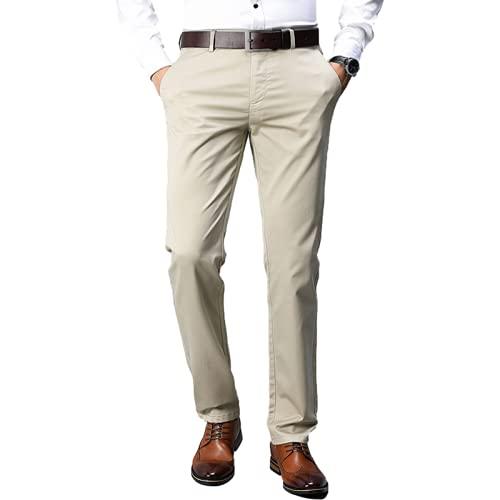 Pantalones Formales para Hombre, Modelos Delgados de Verano, Todos Cintura Suelta, Pantalones de Negocios de...