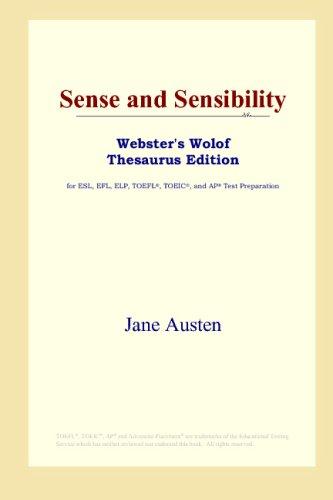 Download Sense and Sensibility (Webster's Wolof Thesaurus Edition) B00125B0II