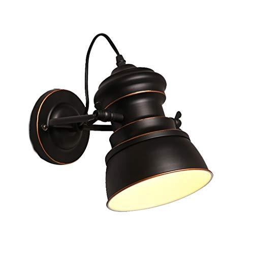 Applique Applique Fer - W4273 Vent Industriel Vent Rétro Lit Tête Pays Américain Porche Allée Balcon Éclairage