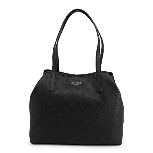 Guess Vikky Tote, Bags Flap Damen, Black, One Size