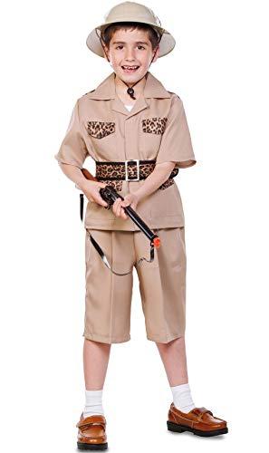 Fyasa 706336-T02 - Disfraz de explorador para 7 a 9 años, multicolor, mediano