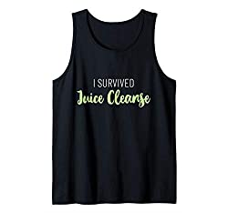 cheap Funny Detox Juice Cleanse Tank Top I Survived Juice Cleanse