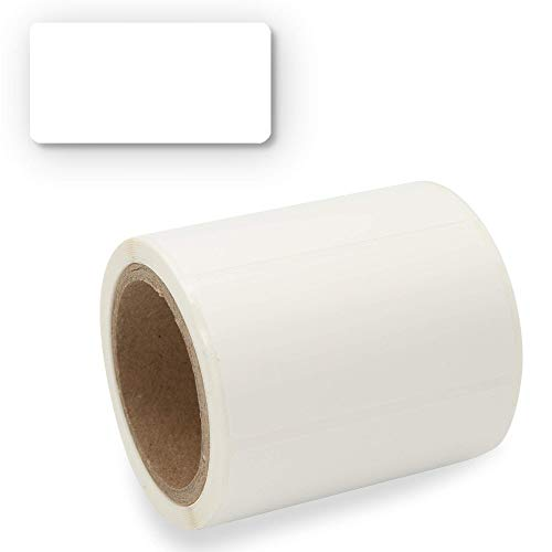Etiketten Selbstklebend 200 Stück, Klebe-Etiketten zum Beschriften von Einmach-Gläsern, Aufkleber Marmeladenglas Beschriftbar, Gewürzetiketten Blanko 60x30mm