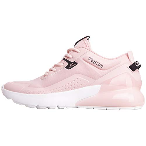 Kappa Damen Doolin Sneaker, Rosa (Rosé/Black 2111), 42 M EU