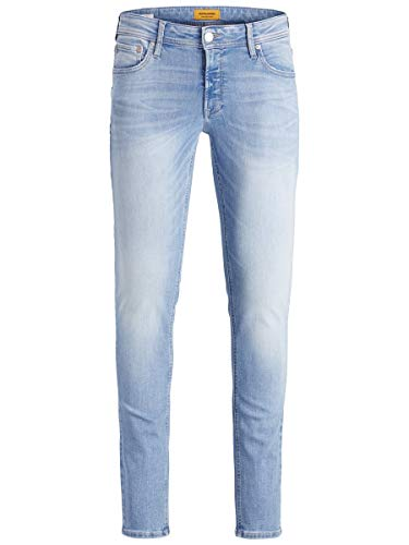 JACK & JONES Jjiliam Jjoriginal Agi 002 Noos Jeans Skinny, Blu (Blue Denim Blue Denim), 32W / 32L Uomo