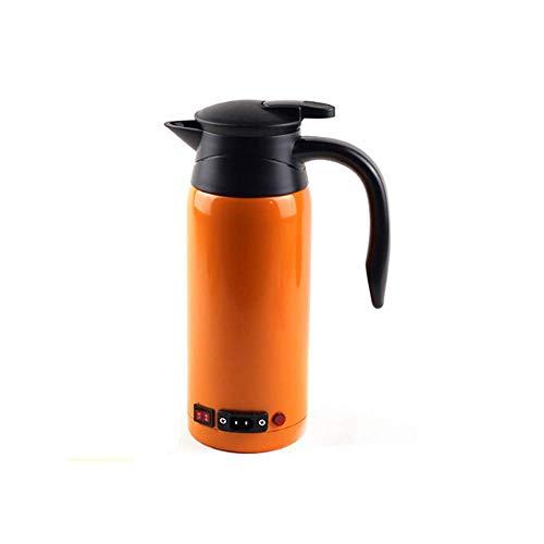 wangYUEQ 0.8LCAR Hot Kettle Calentador de Agua portátil Auto 304 Acero Inoxidable Gran Capacidad