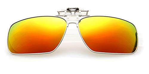 Gafas de Sol con Clip Flip-Up para Gafas Graduadas de Hombre...