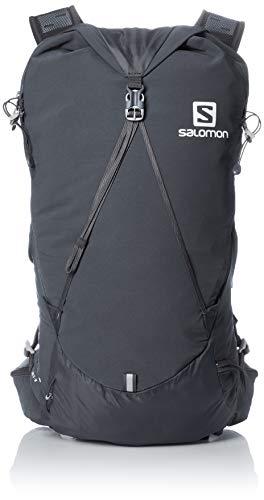 Salomon, Unisex-Rucksack, OUT DAY 20 + 4, Dunkelgrau (Ebony), 24L, Größe: M/L, LC1047800