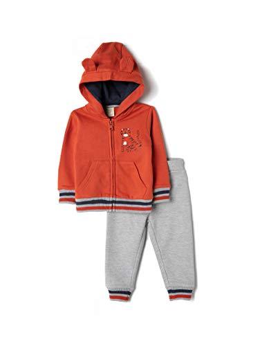ZIPPY Baby-Jungen ZTB0603_470_4 Polo-Pullover, Rust 18-1248 Tc, 24/36M