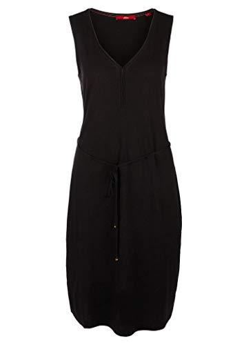 s.Oliver Damen Sommerkleid Kleid, 9999 Black, M