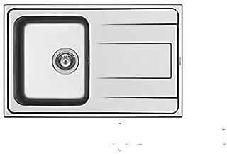 Succsale - Edelstahlspüle-Einbauspüle -Beckenabmessungen ALEA 86X50 1B 1D-ALEA-PYRAMIS-107158412