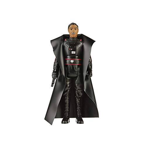 Star Wars Retro Collection Moff Gideon Toy 3.75-Inch-Scale The Mandalorian Action Figure with Accessories, Toys for Kids Ages 4 and Up