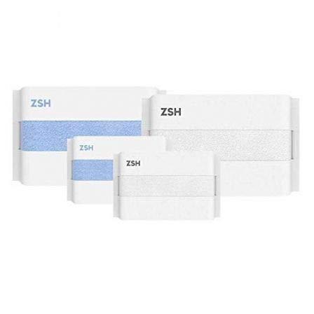 Xiaomi Set DE Toallas ZSH Cara Y BAÑO, Multicolor
