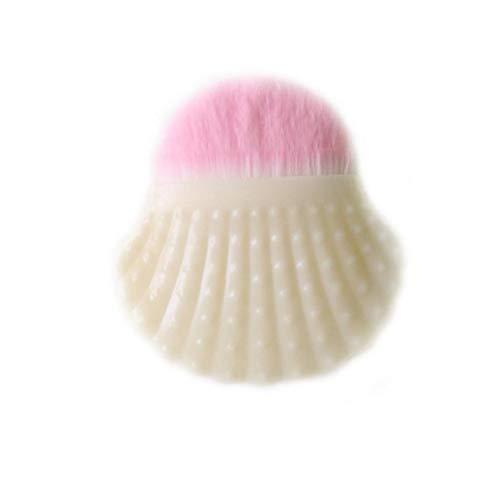Forme Shell pinceau de maquillage Fashion Style poudre pinceau blush Chic Shell Bottom Pinceau pour les femmes (Voie Lactée)