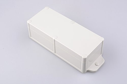 Bahar Enclosure Kunstoffgehäuse Wasserdichte Anschlussdose Weiß Gehäuse Junction Box IP68 Waterproof Enclosure Kunststoffgehäuse Plastik
