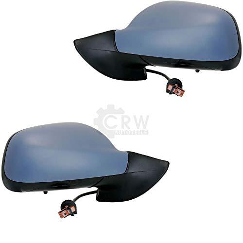 Juego de espejos retrovisores para 407 fabricados entre 04 y 10, calefactables