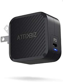 Attikzib Mini 61W USB Type-C [GaN Tech] PD 3.0 Wall Charger