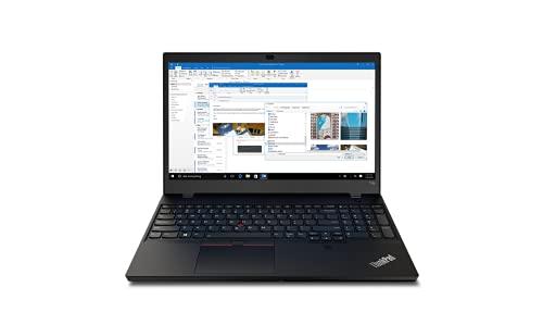 Lenovo ThinkPad T15p Gen 1 - Ordenador Portátil 15.6 UHD (Intel Core i7-10750H, 32GB RAM, 1TB SSD, NVIDIA GeForce GTX 1050, Windows 10 Pro), Negro - Teclado QWERTY Español