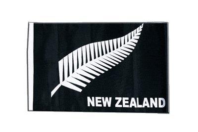 Fahne Flagge Neuseeland Feder All Blacks 30 x45 cm